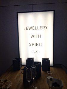 Jewellery with spirit