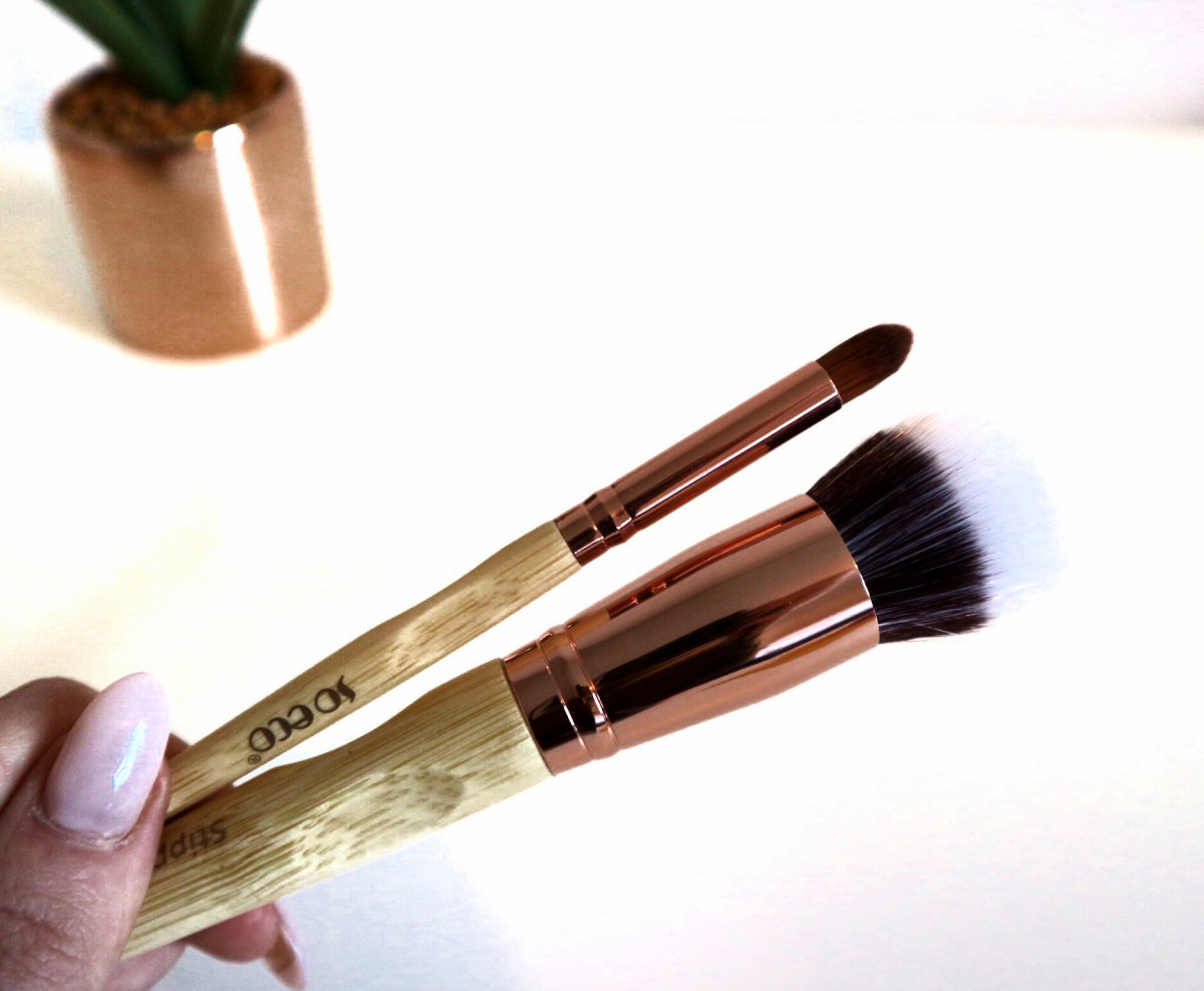 So Eco Rose Gold Makeup Brushes | Review